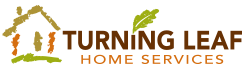 turning leaf home services logo